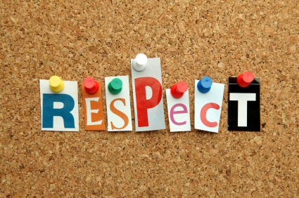 All I want is a little respect - Cheryl Woolstone Counselling Blog